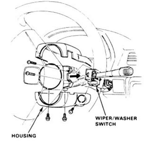 repair windshield wipe control 1992 honda civic seat position control 1985 honda civic windshield wiper switch 1985 honda civic my