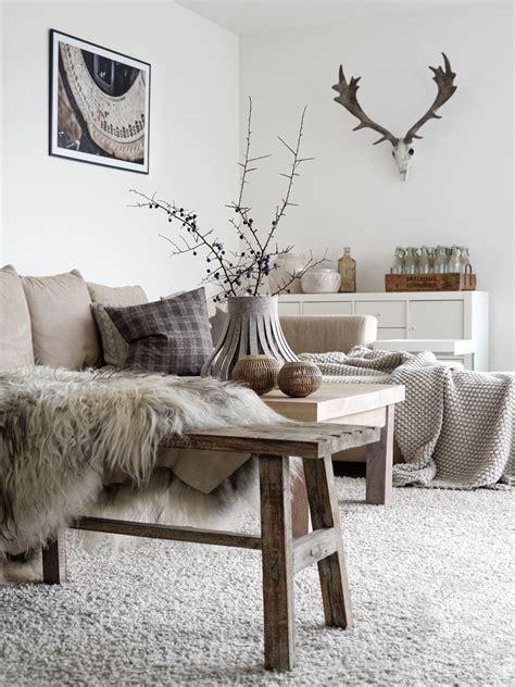 Wohnzimmer Gemütlich Dekorieren by Dekoration Herbst Im Wohnzimmer Mxliving