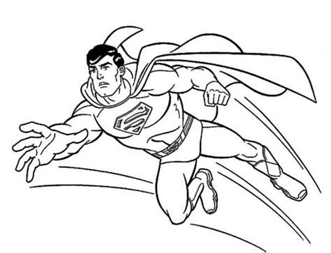 printable superman coloring pages everfreecoloringcom