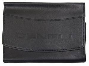 Gmc Denali Glove Box Black Leather Pouch New Oem