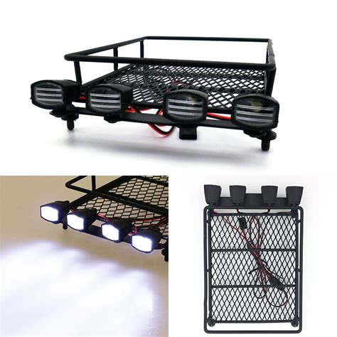 roof rack with lights roof rack luggage carrier light bar for 1 10