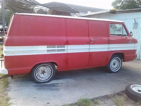 Sell Used 1961 Corvair 95 Van In Hernando, Florida, United