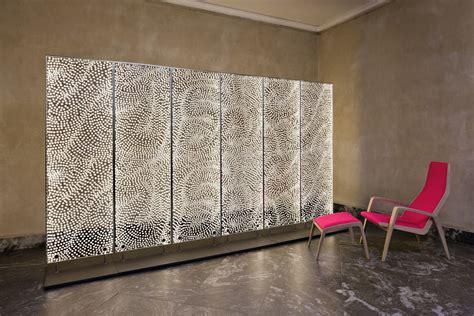 how to install acrylic lighting panels 39 dots 39 solo exhibition design museum denmark 2012 dorte