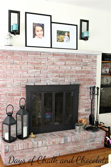 whitewash brick fireplace whitewashed brick fireplace live creatively inspired