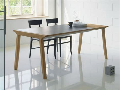 table a manger design extensible table extensible 224 manger en bois pigreco by linfa design design eros colzani