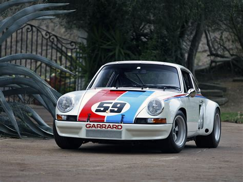 1972 Porsche 911 Carrera Rsr Coupe Supercar Supercars Race