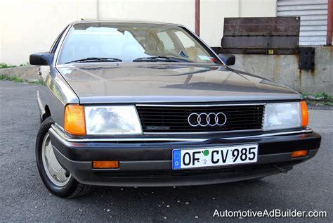 1987 Audi 5000 Quattro 2 3 Typ44 100 Sedan Youtube 90