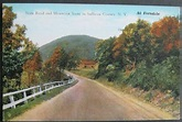 State Road and Mountain Scene In Sullivan County NY At ...