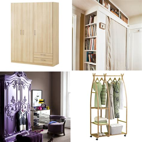 small closet solutions small space no closet apartment therapy