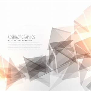 Geometric background with light effect Vector | Free Download