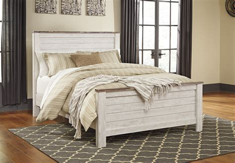 willowton bed hom furniture