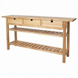 Table Bois Massif Ikea : norden console ikea home pinterest table ikea et table d 39 appoint ~ Farleysfitness.com Idées de Décoration