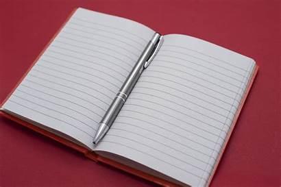 Notebook Open Pen Notebooks Note Author Center