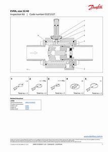 Danfoss Inspection Kit  Evra  Size 32  40