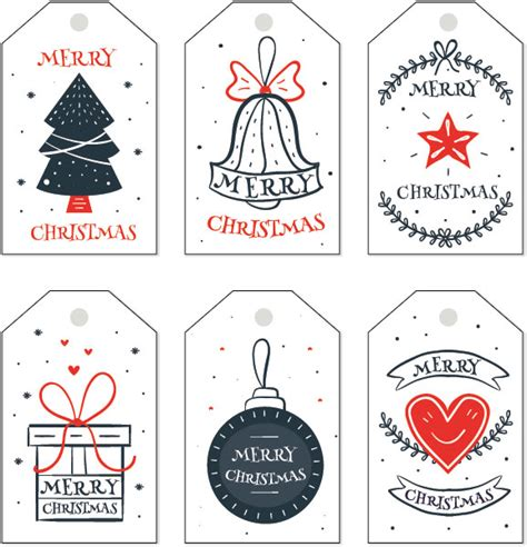 christmas gift tag templates editable printable