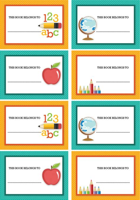 Best Photos Of Free Printable School Name Tags  Free School Printables, Back To School Name