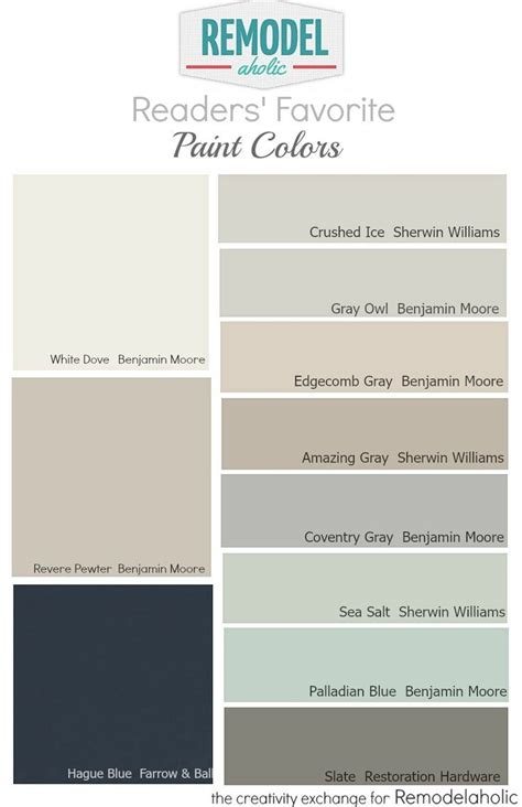beautiful wall paint color by revere pewter greige paint