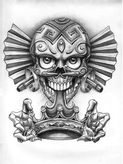 King maker | Crown tattoo design, Chicano art tattoos