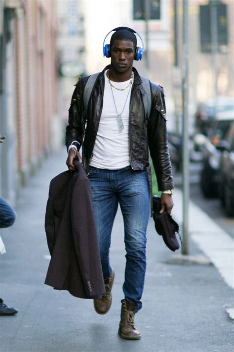 Best Images About Men Black Leather Jackets