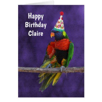 musical dancing lorikeet birthday card birthday gifts