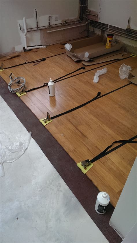 Bamboo engineered flooring fitted in West London   Step