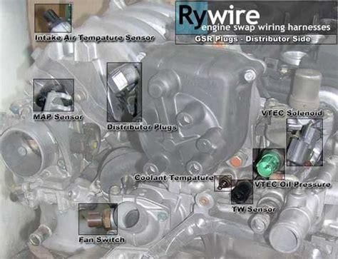 engine harness plug connector identification