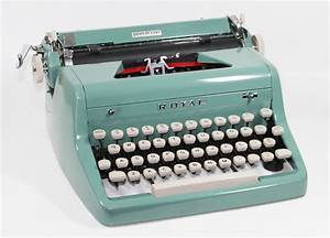 The Classic Royal Typewriter And New Laminator