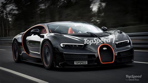 bugatti chiron  hit  mph offer targa version