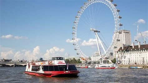 London Eye Boat Cruise by City Cruises River Tour Visitlondon