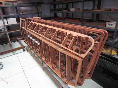replica plans sea project world war  biplane