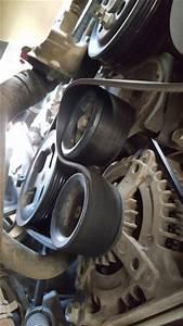Diy  Replacing Driving  Serpentine  Timing Belt  And Idler