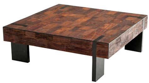 reclaimed wood coffee table  basic