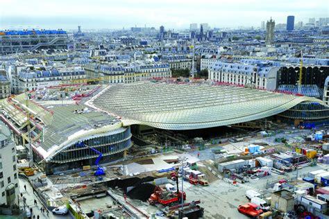 A Paris, La Canopée Des Halles S'ouvre Au Public Btp