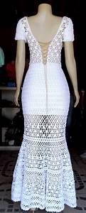 Modelos De Vestido De Crochê Longo Pictures to pin on