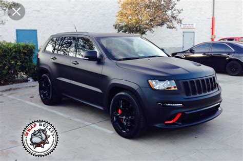 matte jeep grand cherokee matte vinyl wrap on grand cherokee one of each please