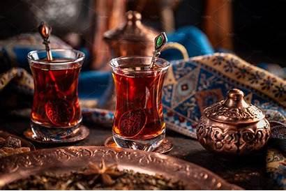 Tea Turkish Market