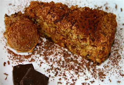 cake with amaretti cookies rum and chocolate