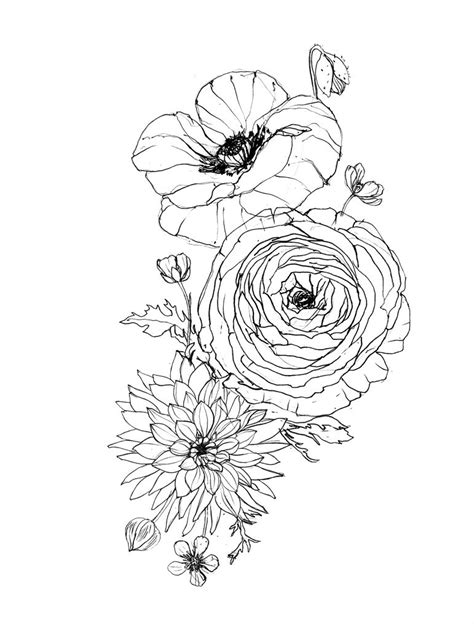 Image result for ranunculus tattoo | Tats | Pinterest