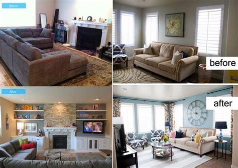 small living room makeover    modern house