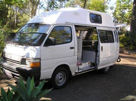 toyota hiace lwb campervan car sales brisbane