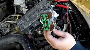 Installing A Dodge Fuel Pump Relay Bypass For A Faulty