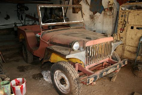 Hyderabad Willys Ma 1941 Fabrication Page 2 Team Bhp