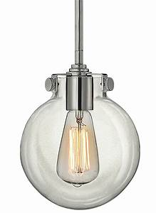 Hinkley lighting cm chrome light indoor mini pendant