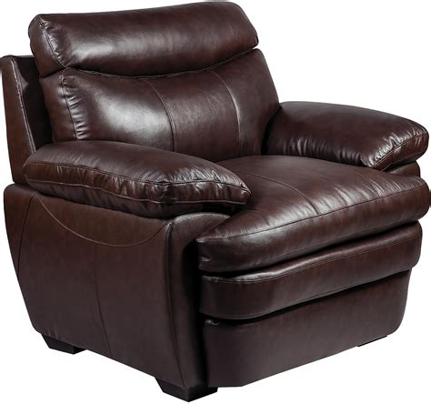 leather chair marty genuine leather chair brown the brick