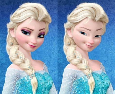 potret princess disney  tak pakai   beda