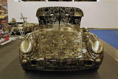 memorable supercars built   scrap metal