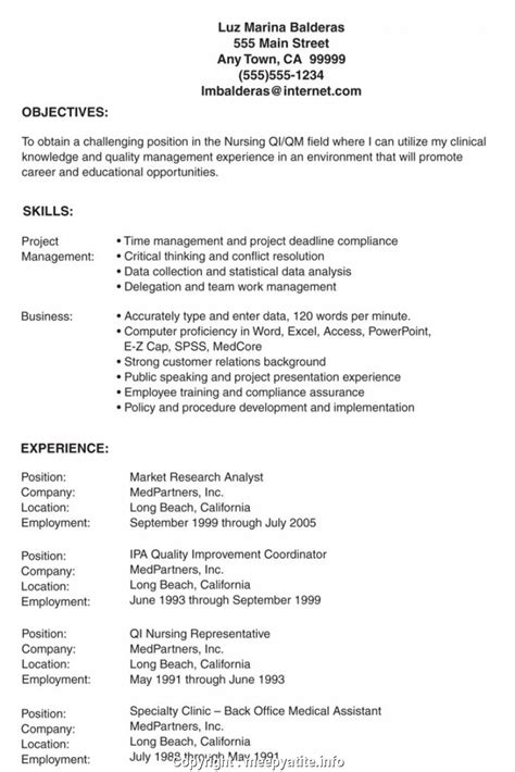 Lvn Resume Exles by Lvn Resume Exles Vvengelbert Nl