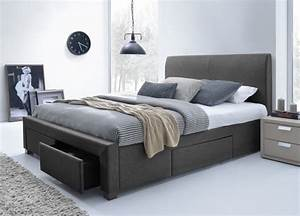plans for king size platform bed with storage
