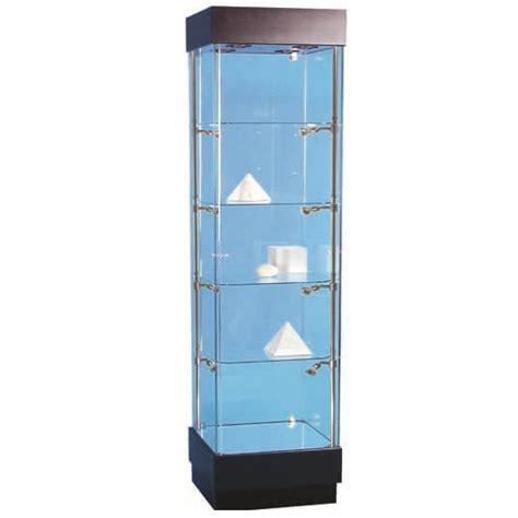 500mm wide glass display cabinet halogen pr5100 s5