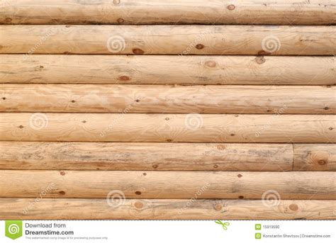 Log Wall Stock Photo. Image Of Building, Wood